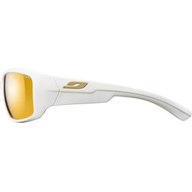 Julbo Whoops Zebra Sunglasses Shiny White-Yellow/Brown